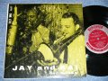 "JAY JAY JOHNSON and KAI WINDING - KAI and JAY JAY DEC.3,1954   (Ex+/Ex+ Looks:Ex)  / 1954 US AMERICA ORIGINAL ""MAROON with SILVER Color Label""  Mono Used 10"" LP"
